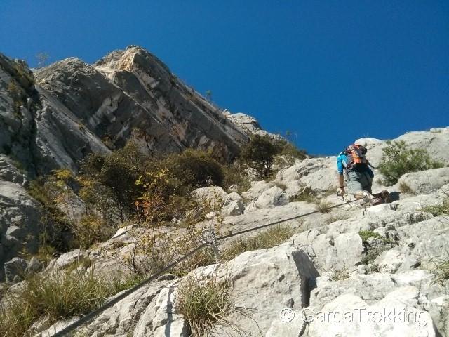 Klettersteig Che Guevara : Klettersteig ferrata via ernesto che guevara monte casale